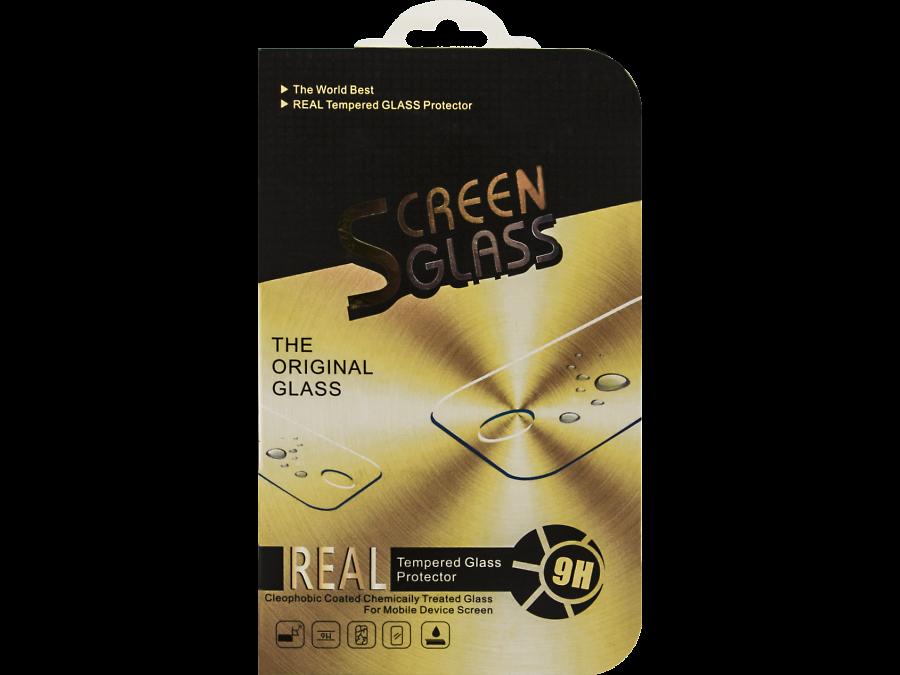 Защитное стекло Screen Glass для Apple iPhone 6 Plus с белой рамкой