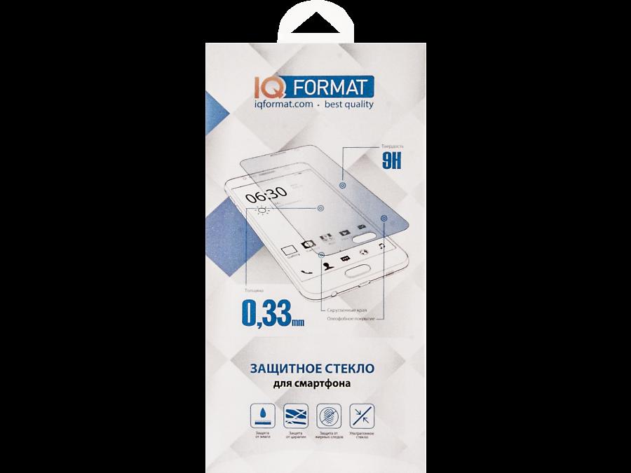Защитное стекло IQ Format для Apple iPhone 7 Plus (черное)