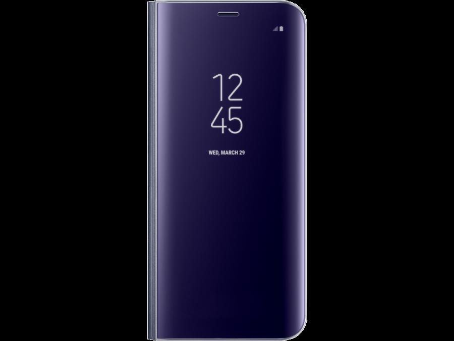 Чехол-книжка Samsung для Galaxy S8 Plus, полиуретан, фиолетовый