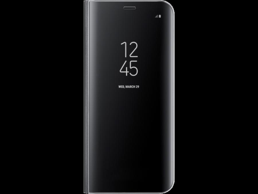 Чехол-книжка Samsung для Galaxy S8, полиуретан, черный